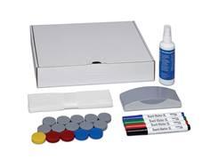 Boîte d´accessoires pour tableaux blancs
