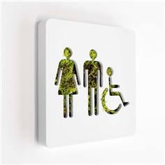 Plaques de porte Lichen