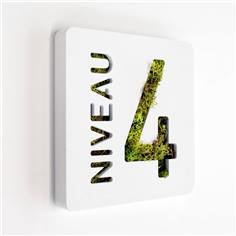 Plaque de porte Like´n Box - Niveau 4
