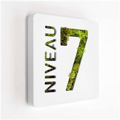 Plaque de porte Like´n Box - Niveau 7