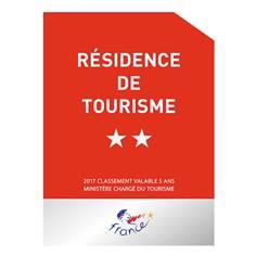 Panneau résidence de tourisme