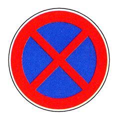 Panneau Arrêt et stationnement interdit - R4