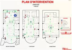 Plan d´intervention en PVC