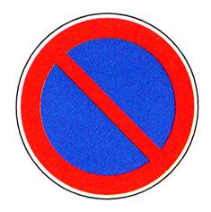 Panneau Stationnement interdit - R2