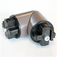 Angle 3D pour main courante cylindrique - Intérieur - Gamme Color, Anodisé et Wood