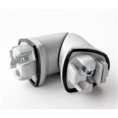 Angle 3D pour main courante trilobée Haut de gamme - Intérieur