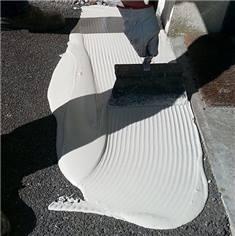 Résine méthacrylate bi-composante pour granulats de marbre