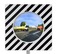 Miroir d'agglomération réglementaire avec contrôle 2 directions - gamme éco