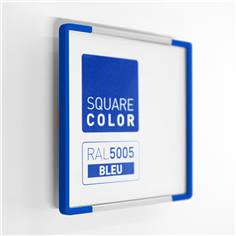 Plaque de porte Embouts bleu  - Square Color