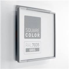 Plaque de porte Embouts gris - Square Color