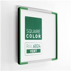 Plaque de porte Embouts vert  - Square Color