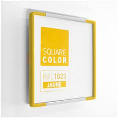 Plaque de porte Embouts jaune  - Square Color