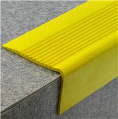 Nez de marche en PVC - Long 3000 x Larg 65 mm - Intérieur