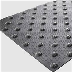Dalle podotactile adhésive - 400 x 600 mm - Intérieur et extérieur