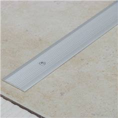 Profil plat en aluminium anodisé naturel - Long 2700 x Larg 35 mm - Intérieur / Extérieur