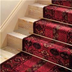 Tringles laiton pour escaliers - Gamme hôtel - Long 800 mm - Intérieur
