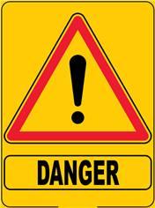 Panneau Eco Triangulaire Danger