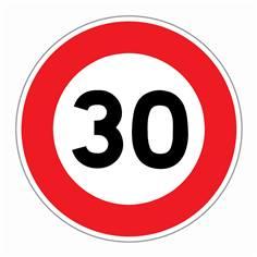 Panneau Limitation de vitesse 30 km/h - R31-30