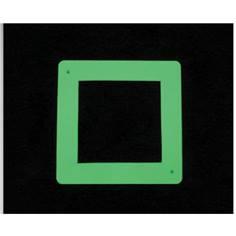 Etiquette photoluminescente de Repérage  des Interrupteurs