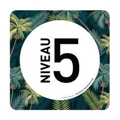 Plaque de porte Niveau 5 - 150 x 150 mm - PVC de 2 mm imprimé - Gamme Mosaïque®