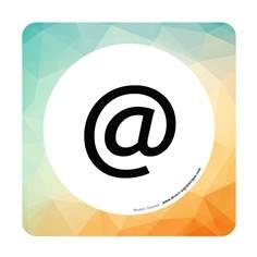 Plaque de porte Salle informatique - 150 x 150 mm - PVC de 2 mm imprimé - Gamme Mosaïque®