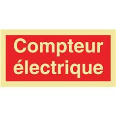 Panneau photoluminescent Compteur électrique