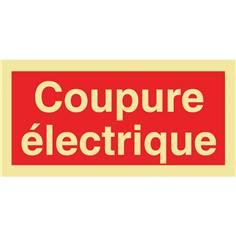 Panneau photoluminescent Coupure électrique