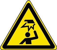 Danger Obstacle au-dessus de la tête - STF 3136S