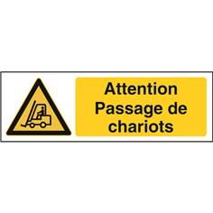 Attention passage de chariots STF 2507