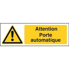 Attention porte automatique STF 2503