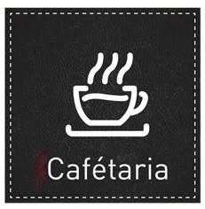 Plaque de Porte Cafétaria - H110 x L110 mm - Gamme Dark cuir