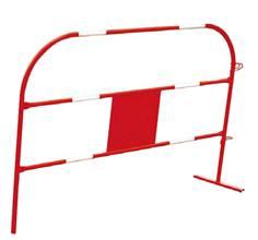 Barrière de chantier conforme à la NF P 98-470 - L 1.5 m