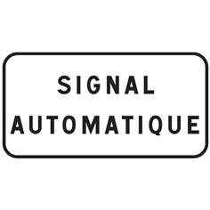 Panonceau Signal automatique - M9z