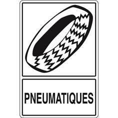 Signalisation de Tri pour Pneus - H 450 x L 300 mm - STF 966