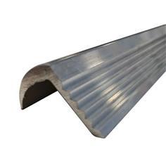 Nez de marche courbé Alu - A coller - Int/Ext - Long 2000 x larg 30 mm - Gamme éco