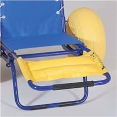 Repose pieds pour fauteuil d'accès au bain