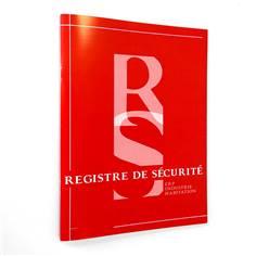 Registre de sécurité incendie des ERP, ERT et immeubles d´habitation