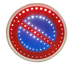 Panneau lumineux B6a1 à LEDs pour stationnement interdit