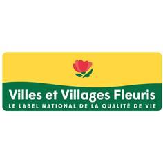 Panneau villes et villages fleuries - Classe 1 - H 350 x L 950 mm