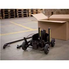 Traceur de marquage 4 roues pour aérosol 500 ou 750 ml