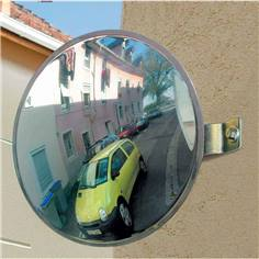 Miroir de sorties de garage - contrôle 2 directions
