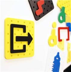 Plaque de porte PVC Plug&Play®