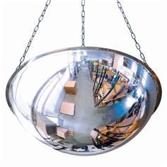 Miroir hémisphérique 1/2 sphère à suspendre