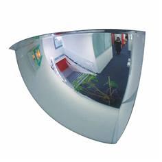 Miroir hémisphérique 1/8 sphère pour boutiques