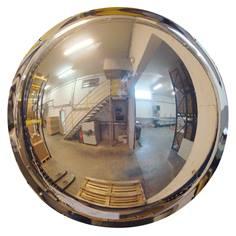 Miroir hémisphérique 1/2 sphère mural