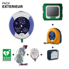 Pack Défibrillateur Zoll AED Plus avec Armoire pour Extérieur