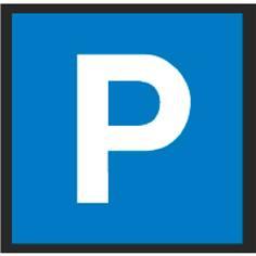 Marquage au sol en résine thermocollée Parking - C1a