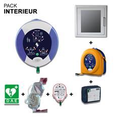 Pack Défibrillateur Zoll AED Plus avec Armoire pour Intérieur