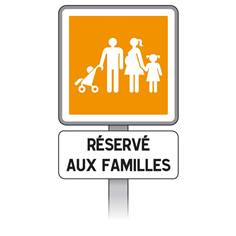 Kit Panneaux Stationnement pour famille