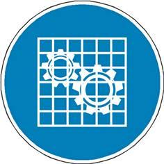 Panneau Obligation Vérifier la protection ISO 7010 - M027